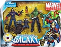 Guardians of the Galaxy Marvel Univese 3.75 Inch Action Figure Team Pack Series