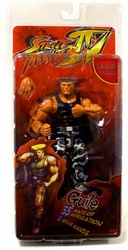 Guile action figure Street Fighter IV Survival Mode *bad packaging*