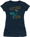 Gumby juniors t-shirt Bend There navy