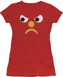 Gumby juniors t-shirt Blockhead G red