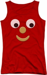 Gumby juniors tank top Blockhead J red
