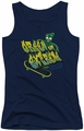 Gumby juniors tank top Green And Extreme navy