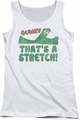 Gumby juniors tank top That� white