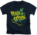 Gumby kids t-shirt Green And Extreme navy