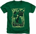 Gumby kids t-shirt Vintage Rock Poster kelly green