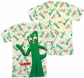 Gumby mens full sublimation t-shirt Friendly Greeting