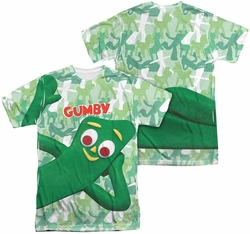 Gumby mens full sublimation t-shirt Gumbyflage