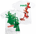 Gumby mens full sublimation t-shirt Moves