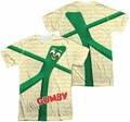 Gumby mens full sublimation t-shirt Stretched