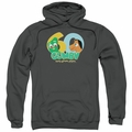 Gumby pull-over hoodie 60th adult charcoal