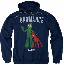 Gumby pull-over hoodie Bromance adult navy