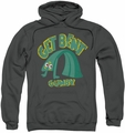 Gumby pull-over hoodie Get Bent adult charcoal