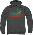 Gumby pull-over hoodie On Logo adult charcoal