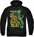 Gumby pull-over hoodie So Punny adult black