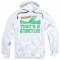 Gumby pull-over hoodie That's A Stretch adult white