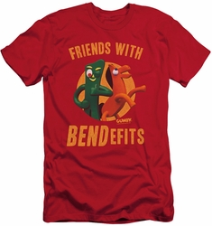 Gumby slim-fit t-shirt Bendefits mens red