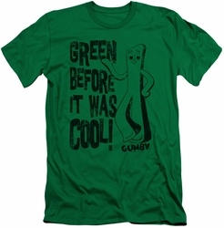 Gumby slim-fit t-shirt Cool Green mens kelly green