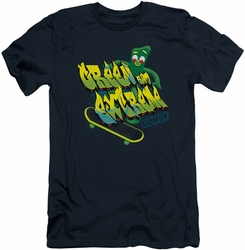 Gumby slim-fit t-shirt Green And Extreme mens navy