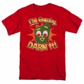 Gumby t-shirt Darn It mens red