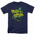 Gumby t-shirt Extreme and Green mens navy