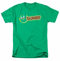 Gumby t-shirt Logo mens Kelly Green