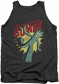 Gumby tank top Bendable mens charcoal