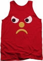 Gumby tank top Blockhead G mens red