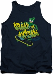 Gumby tank top Green And Extreme mens navy