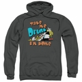 Hagar The Horrible pull-over hoodie Take Me Home adult charcoal