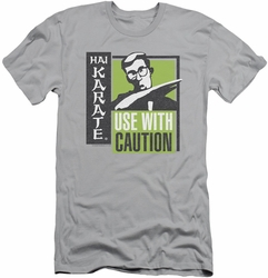 Hai Karate slim-fit t-shirt Karate Chop mens silver