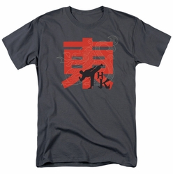 Hai Karate t-shirt HK Kick mens charcoal