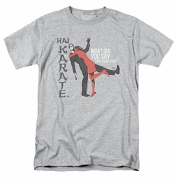 Hai Karate t-shirt Name mens heather