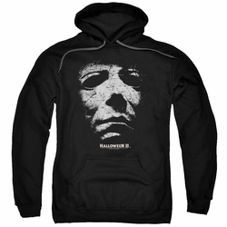 Halloween II pull-over hoodie Mask adult black