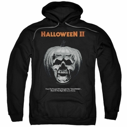 Halloween II pull-over hoodie Pumpkin Poster adult black