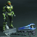 Halo 2 Play Arts Kai Master Chief Anniv Edition Action Figure