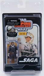 Han Solo action figure Hoth Outfit Star Wars Saga Collection