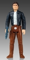 Han Solo Bespin Outfit Vintage Jumbo Figure
