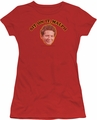 Happy Days juniors t-shirt Sit On It Malph red