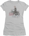 Happy Days juniors t-shirt Sit On It! silver
