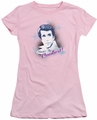 Happy Days juniors t-shirt The Coolest pink