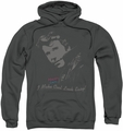 Happy Days pull-over hoodie Cool Fonz adult charcoal