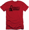 Happy Days slim-fit t-shirt Correct A Mundo mens red