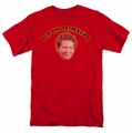Happy Days t-shirt Sit On It Malph mens red