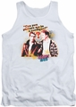 Happy Days tank top No Cardigans mens white