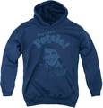 Happy Days youth teen hoodie Don'T Be A Potsy navy