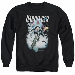 Harbinger adult crewneck sweatshirt 12 black