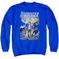 Harbinger adult crewneck sweatshirt Foot Forward royal blue
