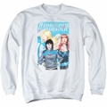 Harbinger adult crewneck sweatshirt Gals white