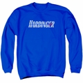 Harbinger adult crewneck sweatshirt Logo royal blue