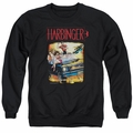 Harbinger adult crewneck sweatshirt Vintage Harbinger black